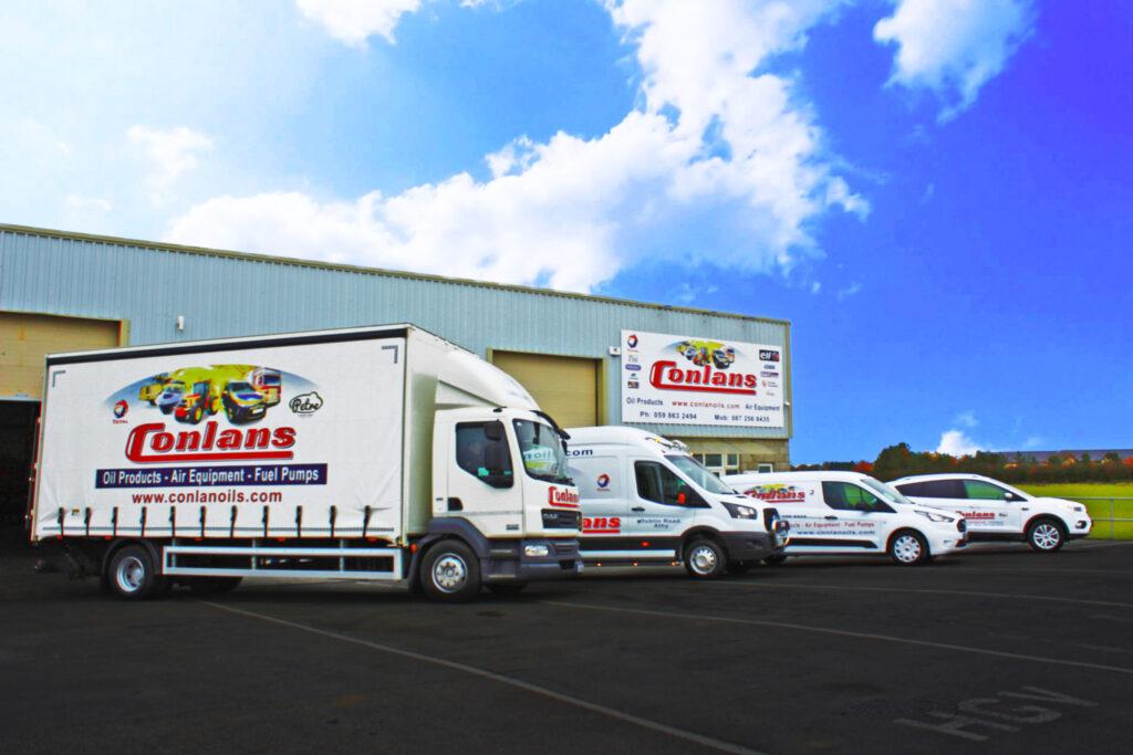 Conlan Oils Vans