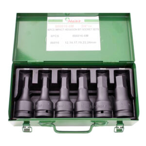 3:4 Drive 6 Piece Allen Impact Socket Set