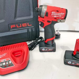 Milwaukee Fuel Impact Driver Kit M12FID-602X