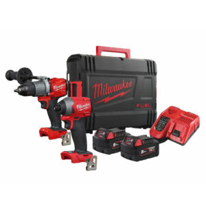 Milwaukee M18 Twin Combo Kit Drill & Driver M18FPP2A2-502X
